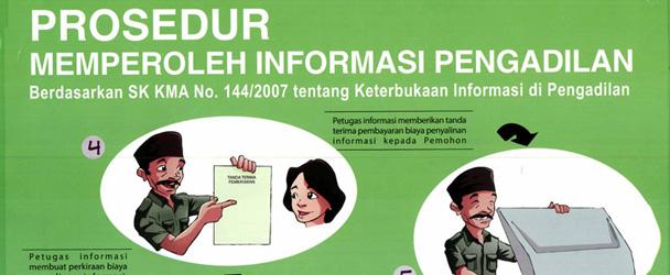 Prosedur Memperoleh Informasi Pengadilan